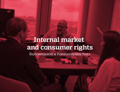 Internal market and consumer rights