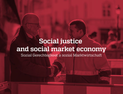 Social justice and social market economy